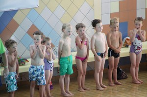 My first students were preschool swimmers